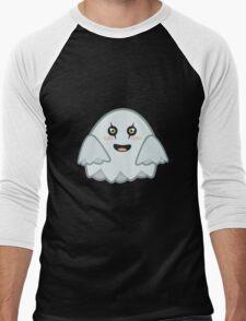 Kawaii Ghost Men's Baseball ¾ T-Shirt