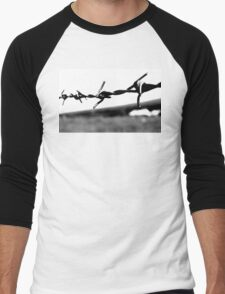 Barbed wire Men's Baseball ¾ T-Shirt