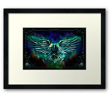 The Cowards Way: Raven, The Haunted Mansion Series  Framed Print