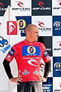 Kelly Slater at  Rip Curl Pro Pipe Masters 06 by Alex Preiss