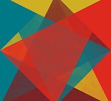 Triangular brushed pattern by francescoberger