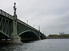 Cruising the Neva River by Lucinda Walter