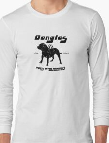 Dangles - Dogs With Handles Long Sleeve T-Shirt