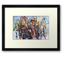 Occupy... Wounded Knee Framed Print