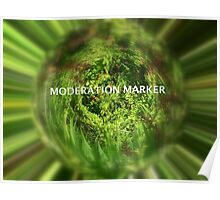 Moderation banner Poster