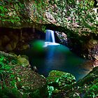 INTO THE CAVE - NATURAL BRIDGE SPRINGBROOK NATIONAL PARK by RhondaR