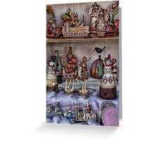 Holiday Gift Goodies Greeting Card