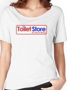 Toilet Store: Fine Suits and Tailoring Women's Relaxed Fit T-Shirt
