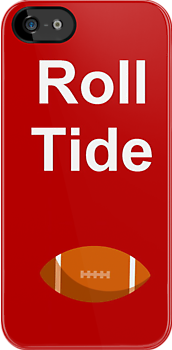Roll Tide Football by DebbieCHayes