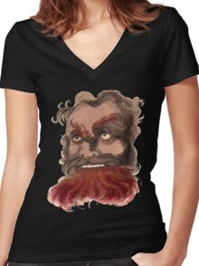 Belial the Lord of Lies Women's Fitted V-Neck T-Shirt