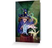 Magic Act Greeting Card