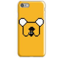 8-bit Jake the Dog iPhone Case/Skin
