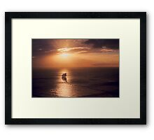 Sunset Cruiser Framed Print