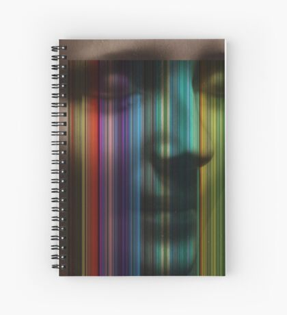 Unknown Haunted Woman Spiral Notebook