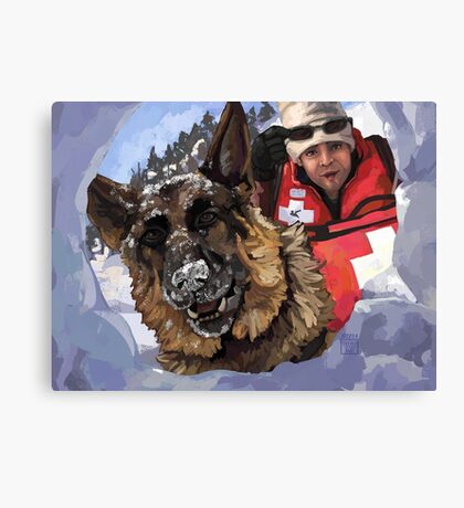Search and Rescue Canvas Print