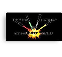 """Bayou Blades"" Logo Canvas Print"