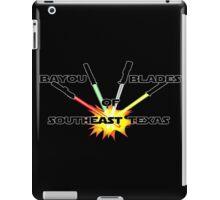 """Bayou Blades"" Logo iPad Case/Skin"