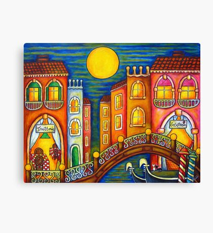 Venice Soiree Canvas Print