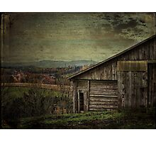 The Old Barn in the Country Photographic Print