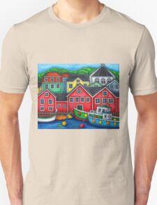 Colours of Lunenburg, Nova Scotia T-Shirt