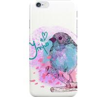 good morning bird iPhone Case/Skin