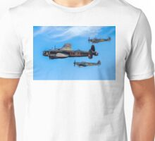Lanc Leads Two Spits in Vic Formation Unisex T-Shirt
