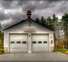 East Washington Fire Station by Monica M. Scanlan