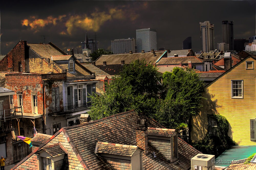 New Orleans HDR City Scape by Dreebs