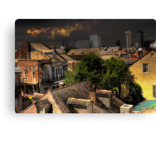 New Orleans HDR City Scape Canvas Print