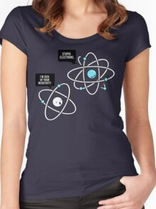 Negative Atom Women's Fitted Scoop T-Shirt