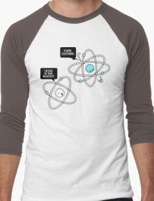 Negative Atom Men's Baseball ¾ T-Shirt