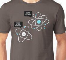 Negative Atom Unisex T-Shirt