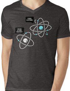 Negative Atom Mens V-Neck T-Shirt