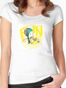 fun-love-sun Women's Fitted Scoop T-Shirt