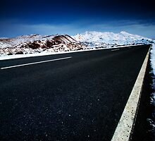 Road to Ruapehu by Michael Treloar