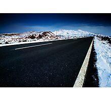 Road to Ruapehu Photographic Print