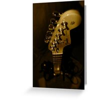 Fender Neck Greeting Card