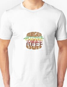 Love me burger Unisex T-Shirt