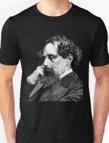 Charles Dickens portrait T-Shirt