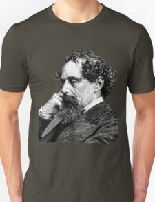 Charles Dickens portrait Unisex T-Shirt