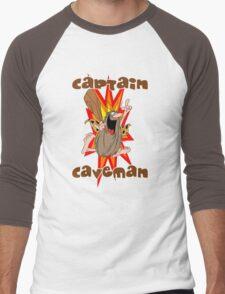 Captain Caveman Men's Baseball ¾ T-Shirt