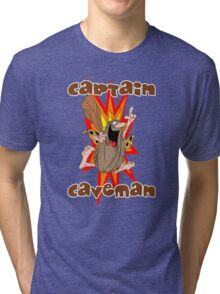Captain Caveman Tri-blend T-Shirt