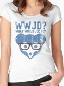 Chicago What Would Joe Do? Women's Fitted Scoop T-Shirt