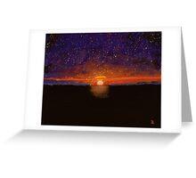 Cosmic Love #2 Greeting Card