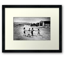 Child's Play Framed Print