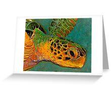 Turtle #2 Greeting Card