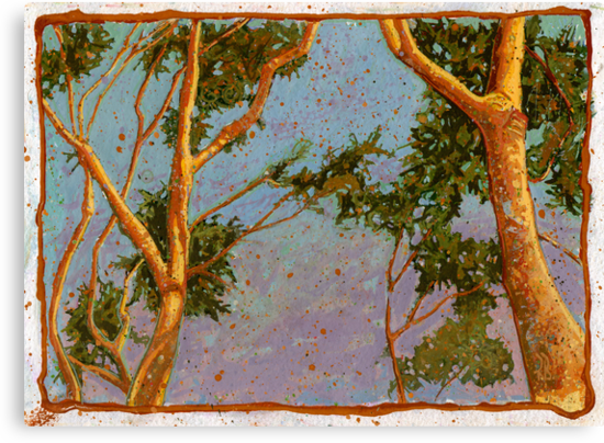 Sunlight on Trees by Richard Bradish Jr