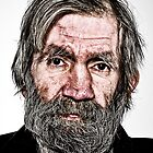 Man With Beard by Paul Rowson