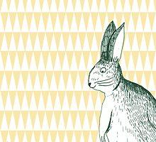 Sharpy bunny by martinlelapin