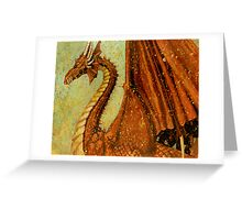Red Dragon Greeting Card